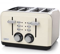 Haden 183460 Perth Cream 4 Slice Toaster
