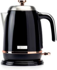 Haden 191137 Salcombe Black + Copper Kettle