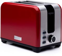Haden 192790 Jersey Red 2 Slice Toaster