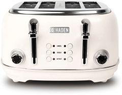 Haden 194220 Heritage White 4 Slice Toaster