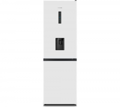 Hisense HSTNFFF186WWH Tall frost free fridge freezer with drinks dispenser
