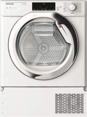 Hoover HBTDWH7A1TCE Integrated 7kg heat pump tumble dryer