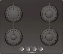 Hoover HGV64SMB 60cm gas on glass hob