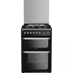Hotpoint HUD61KS 60cm dual fuel cooker