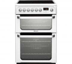 Hotpoint HUE61PS 60cm ceramic cooker