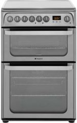 Hotpoint HUE61XS 60cm ceramic cooker