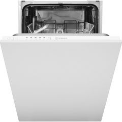 Indesit DSIE2B10 Fully integrated slimline dishwasher