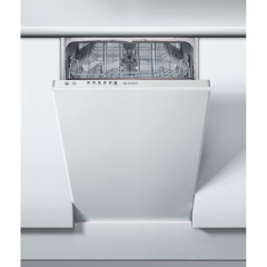Indesit DSIE2B10UKN Fully integrated slimline dishwasher