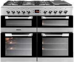 Leisure CS100F520X 100cm Dual Fuel Range Cooker