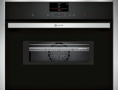 Neff C17MS32H0B Compact combination microwave oven