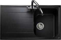 Rangemaster AME860AS/ Amethyst Igneous single bowl sink