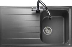 Rangemaster AME860DG/ Amethyst Igneous single bowl sink