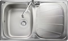 Rangemaster BL8001/ Baltimore single bowl sink reversible