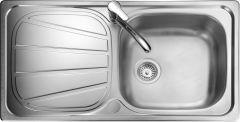 Rangemaster BL9501/ Baltimore single bowl sink reversible