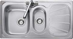 Rangemaster BL9502/ Baltimore 1.5 bowl sink reversible