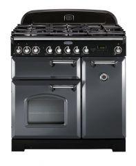 Rangemaster CDL90DFFSL/C Classic Deluxe 90cm dual fuel range cooker