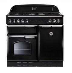 Rangemaster CLA100DFFBL/C Classic 100cm dual fuel range cooker