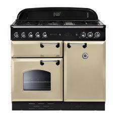 Rangemaster CLA100DFFCR/C Classic 100cm dual fuel range cooker