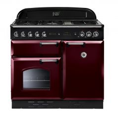 Rangemaster CLA100DFFCY/C Classic 100cm dual fuel range cooker