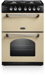 Rangemaster CLA60DFFCR/C Classic 60cm dual fuel cooker