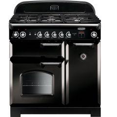 Rangemaster CLA90DFFBL/C Classic 90cm dual fuel range cooker