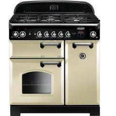 Rangemaster CLA90DFFCR/C Classic 90cm dual fuel range cooker