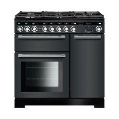 Rangemaster EDL90DFFSL/C Encore Deluxe 90cm dual fuel range cooker