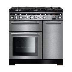 Rangemaster EDL90DFFSS/C Encore Deluxe 90cm dual fuel range cooker