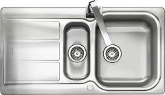 Rangemaster GL9502/ Glendale 1.5 bowl sink reversible