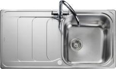 Rangemaster HS9851/ Houston single bowl sink