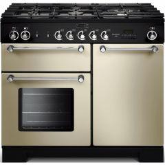 Rangemaster KCH100DFFCR/C Kitchener 100cm dual fuel range cooker