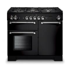 Rangemaster KCH100NGFBL/C Kitchener 100cm gas range cooker