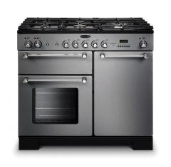 Rangemaster KCH100NGFSS/C Kitchener 100cm gas range cooker
