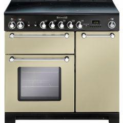 Rangemaster KCH90ECCR/C Kitchener 90cm ceramic range cooker