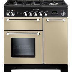 Rangemaster KCH90NGFCR/C Kitchener 90cm gas range cooker