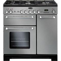 Rangemaster KCH90NGFSS/C Kitchener 90cm gas range cooker