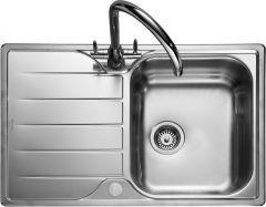 Rangemaster MG8001/ Michigan single bowl sink reversible