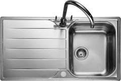 Rangemaster MG9501/ Michigan single bowl sink reversible