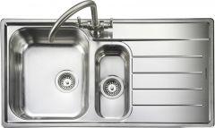 Rangemaster OL9852R/ Oakland 1.5 bowl sink right hand drainer