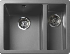 Rangemaster PAR3115DG/ Paragon Igneous undermount 1.5 bowl sink