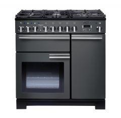 Rangemaster PDL90DFFSL/C Professional Deluxe 90cm dual fuel range cooker