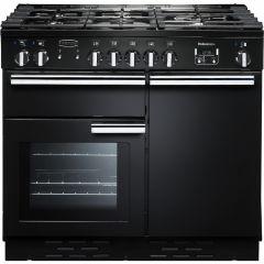 Rangemaster PROP100DFFGB/C Professional Plus 100cm dual fuel range cooker