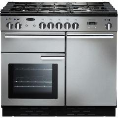 Rangemaster PROP100DFFSS/C Professional Plus 100cm dual fuel range cooker