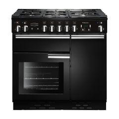 Rangemaster PROP90DFFGB/C Professional Plus 90cm dual fuel range cooker