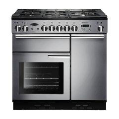Rangemaster PROP90DFFSS/C Professional Plus 90cm dual fuel range cooker