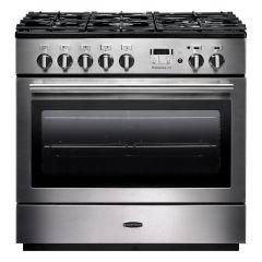 Rangemaster PROP90FXDFFSS/C Professional Plus FX 90cm dual fuel range cooker