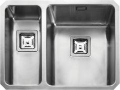 Rangemaster QUB3418L/ Quad Undermount 1.5 bowl sink left hand drainer