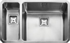Rangemaster QUB4818L/ Quad Undermount 1.5 bowl sink left hand drainer