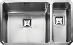 Rangemaster QUB4818R/ Quad Undermount 1.5 bowl sink right hand drainer