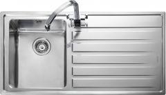 Rangemaster RK9851R/ Rockford single bowl sink right hand drainer